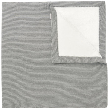 noppies Strickdecke Noto 120x120cm Dark Grey