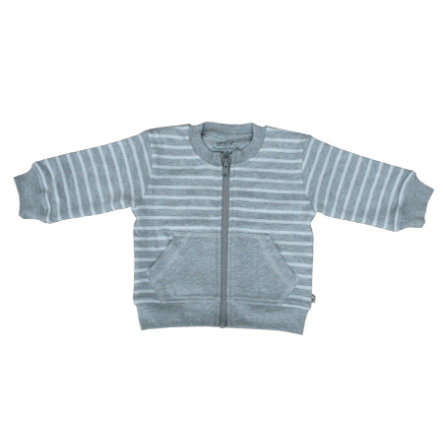 EBI & EBI Fairtrade Sweatjacke grau