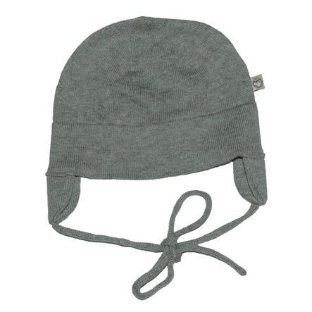 Gorra de punto EBI & EBI gris oscuro