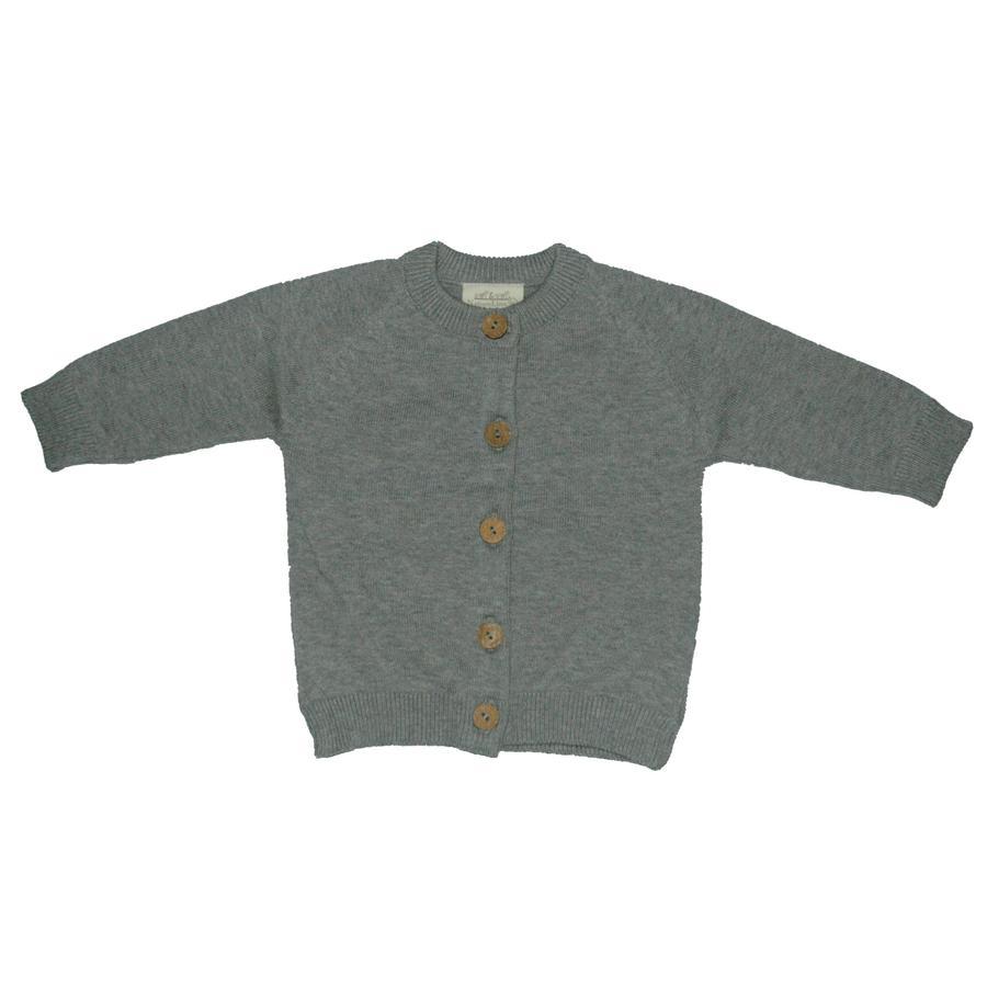 EBI & EBI Sweterek na guziki szary
