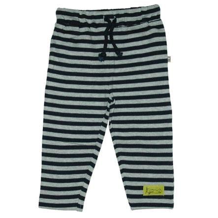 EBI & EBI Pantalon de survêtement rayé gris
