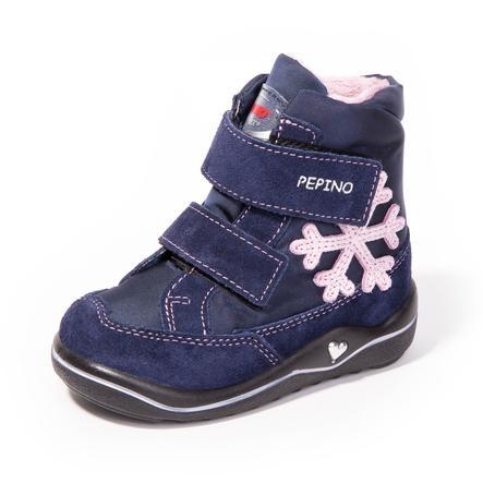 Pepino Girl s Laarzen Hildi nautisch/marineblauwe laarzen (medium)