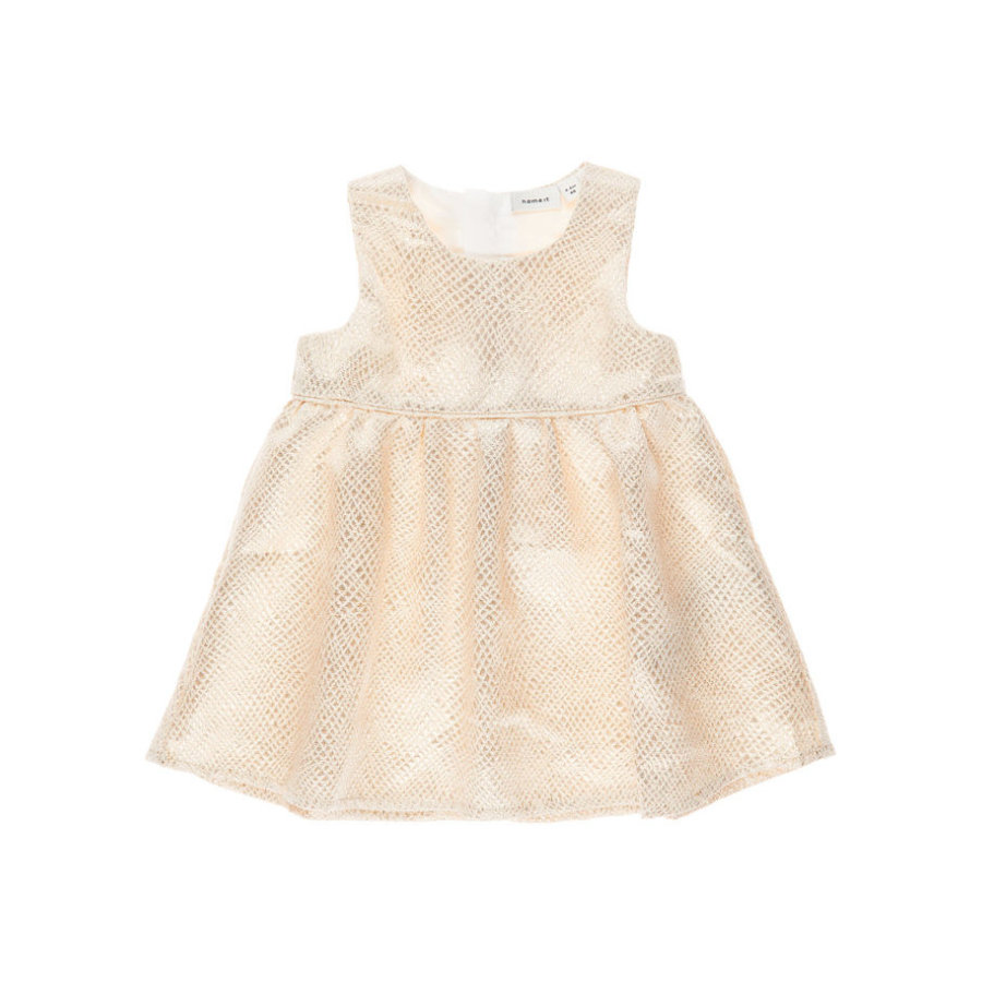 name it Girls Kleid Ines golden colour