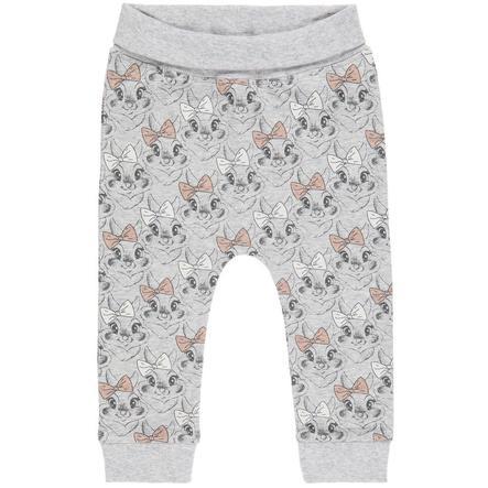 name it Girl s Pantalone felpa Thumper grigio melange melange