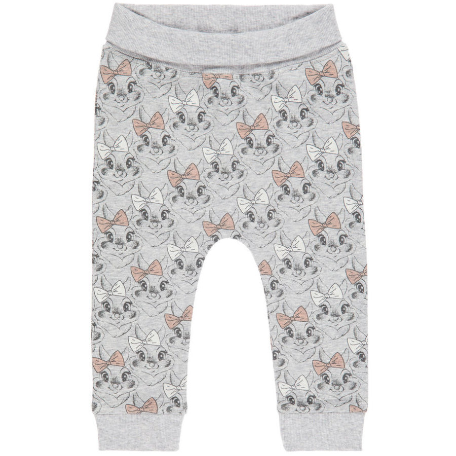 name it Girl s Pantalones de chándal Thumper gris mélange