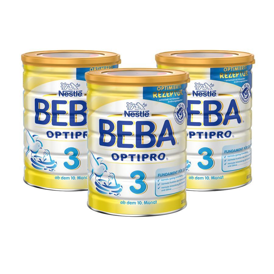 Nestlé BEBA OPTIPRO 3 Folgemilch 3 x 800 g