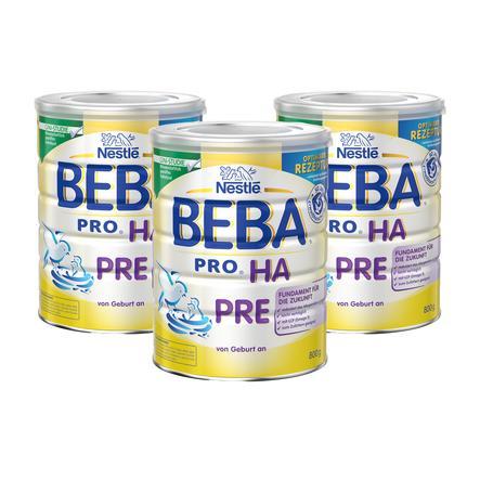Nestlé BEBA PRO HA Pre Anfangsnahrung 3 x 800 g