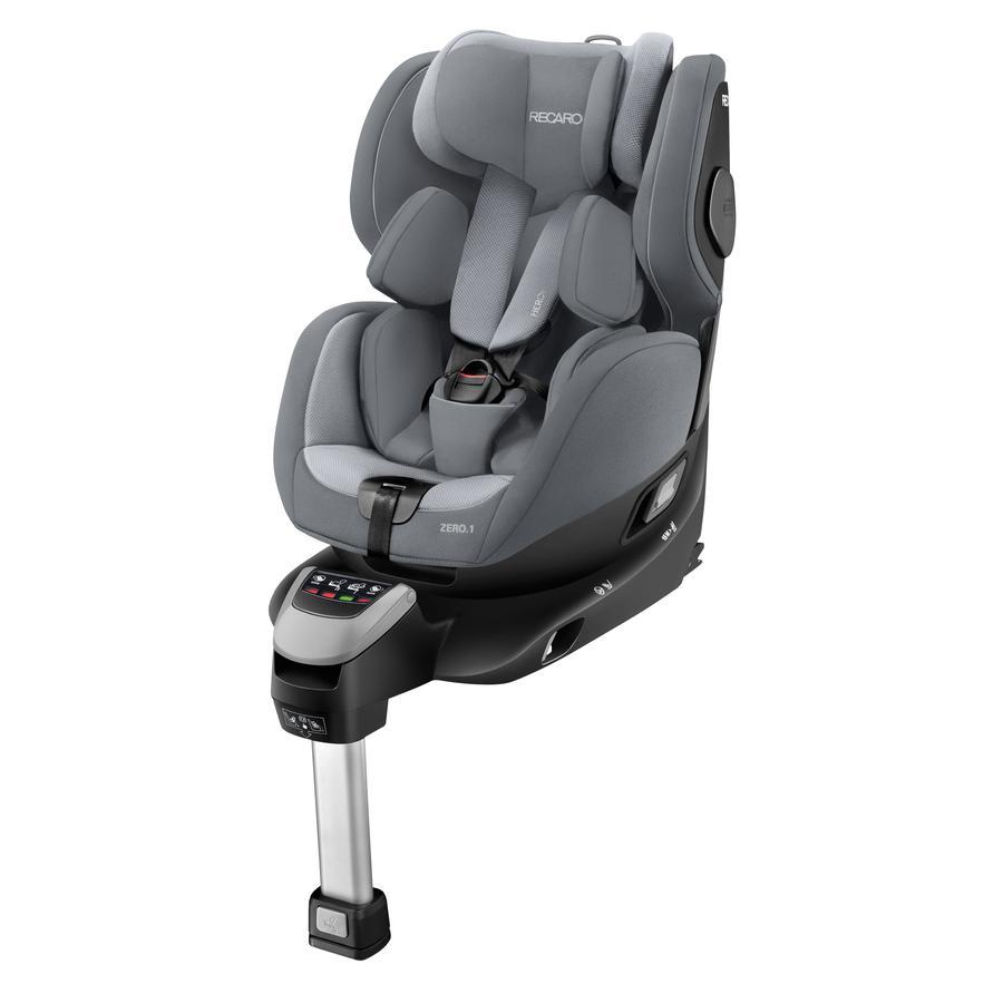RECARO Kindersitz Zero. 1 i-Size Aluminium Grey