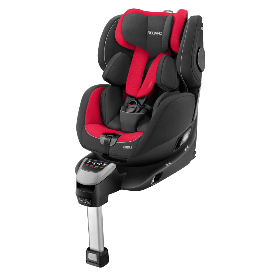 RECARO Zero 1 i-Size Racing Red, 2017