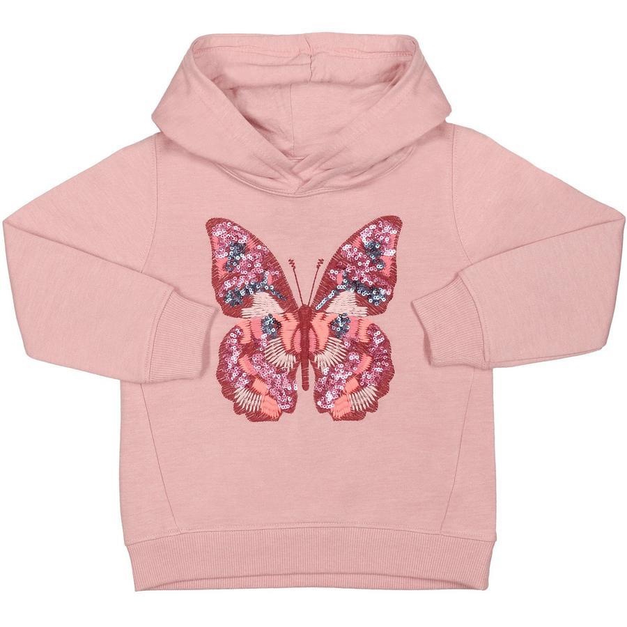 STACCATO Girl Maglietta felpa melange rosa antica