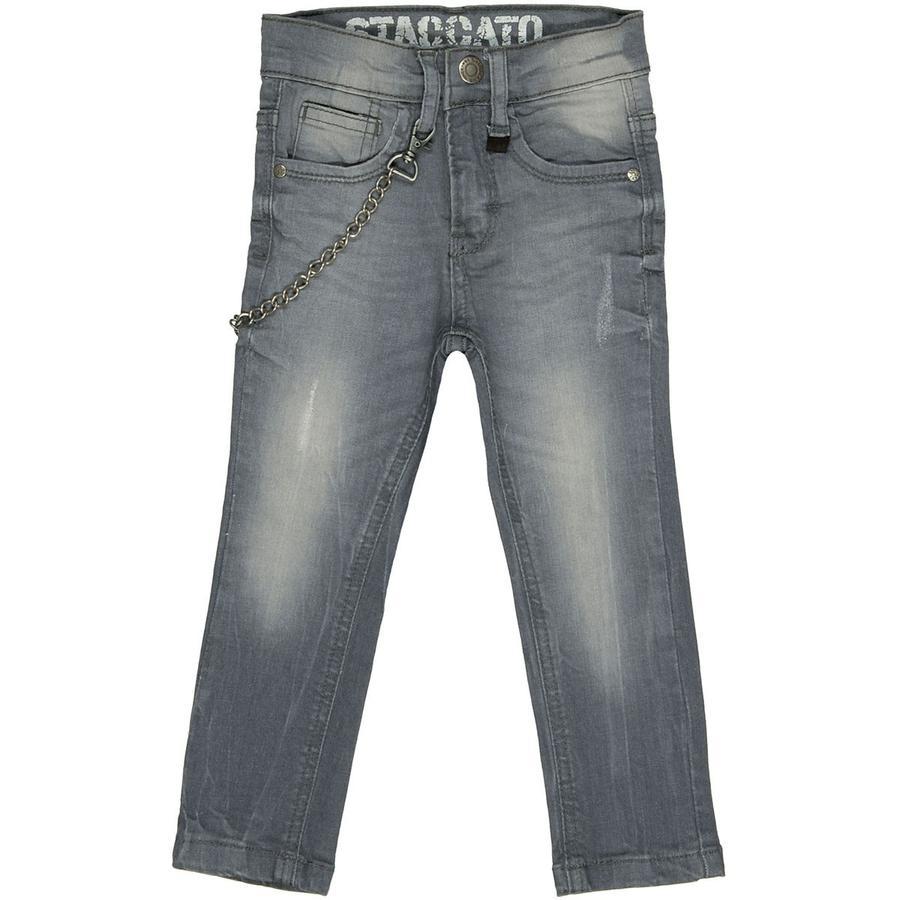 STACCATO Boys Jeans Skinny mit Kette grey denim