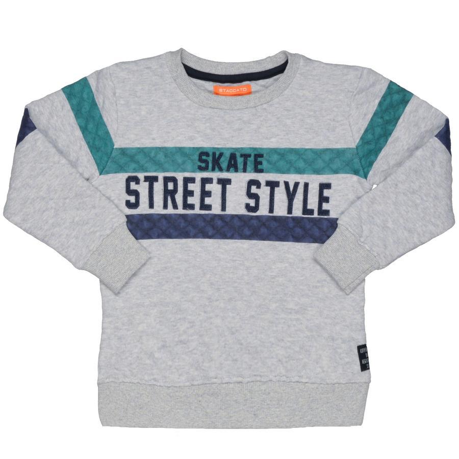 STACCATO Boys Sweatshirt grijs melange