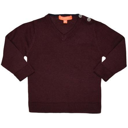 STACCATO Långärmad tröja deep red
