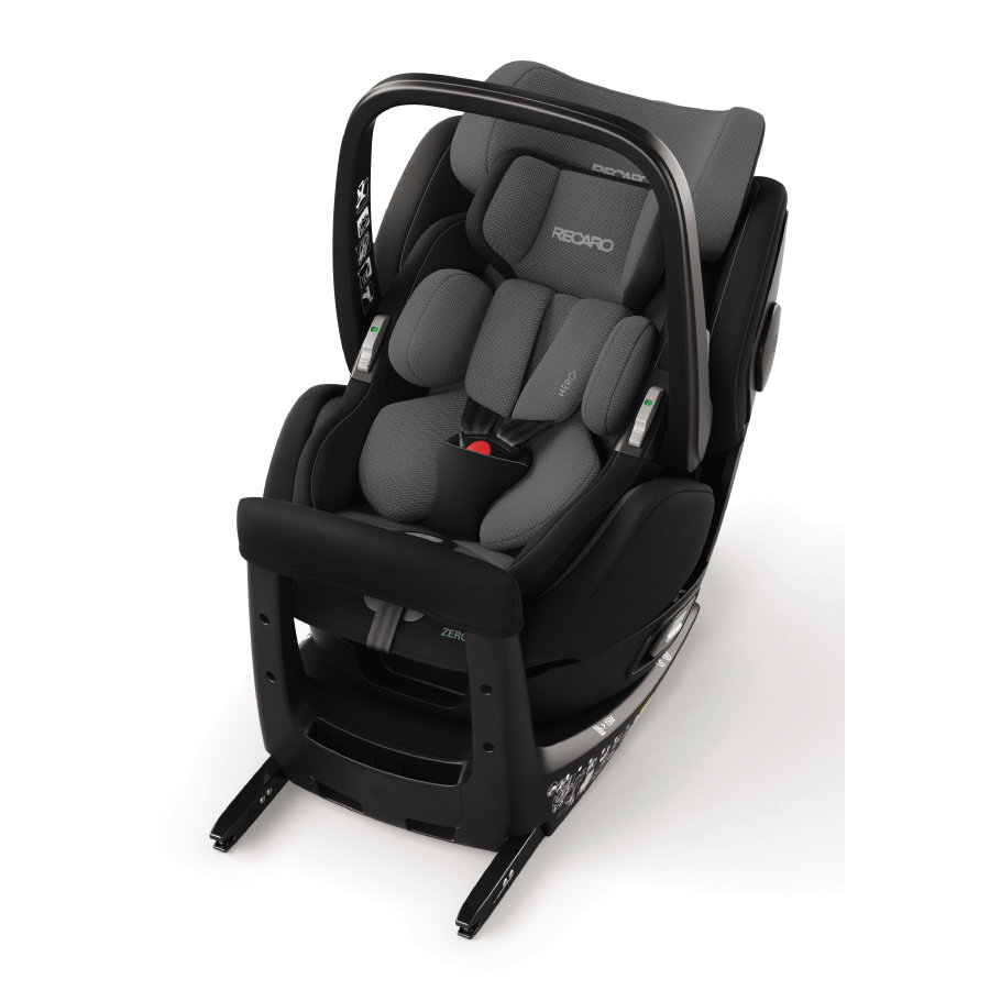 RECARO Kindersitz Zero. 1 Elite i-Size Carbon Black