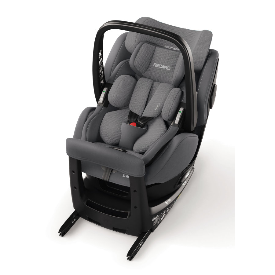 RECARO Child Seat Zero. 1 Elite i-Size Aluminium Grey