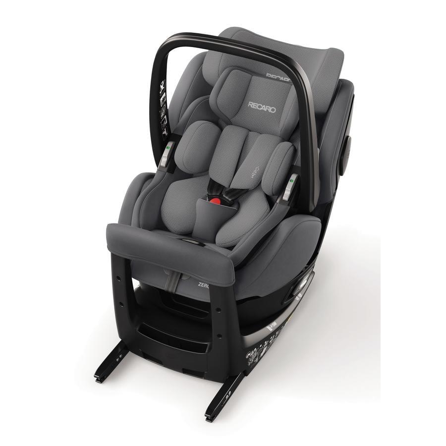 RECARO Kindersitz Zero. 1 Elite i-Size Aluminium Grey