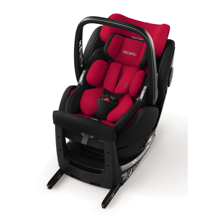 RECARO Kindersitz Zero. 1 Elite i-Size Racing Red
