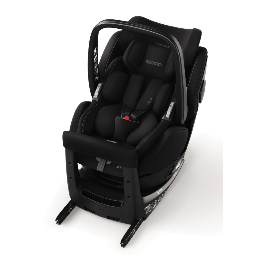 RECARO Kindersitz Zero. 1 Elite i-Size Performance Black