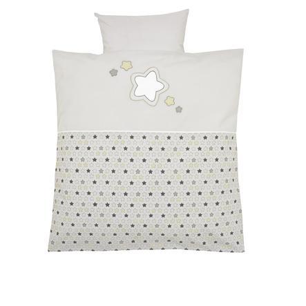 Alvi Ropa de cama 80 x 80 cm, Estrellas y estrellitas