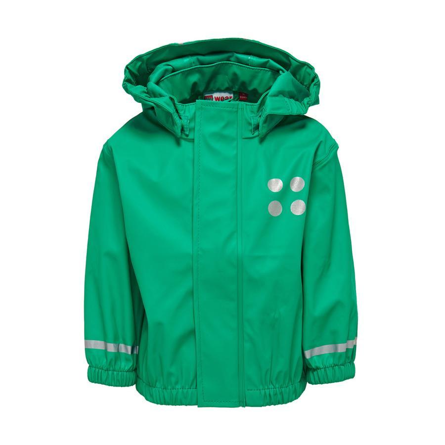 LEGO wear Manteau de pluie enfant Justice vert clair