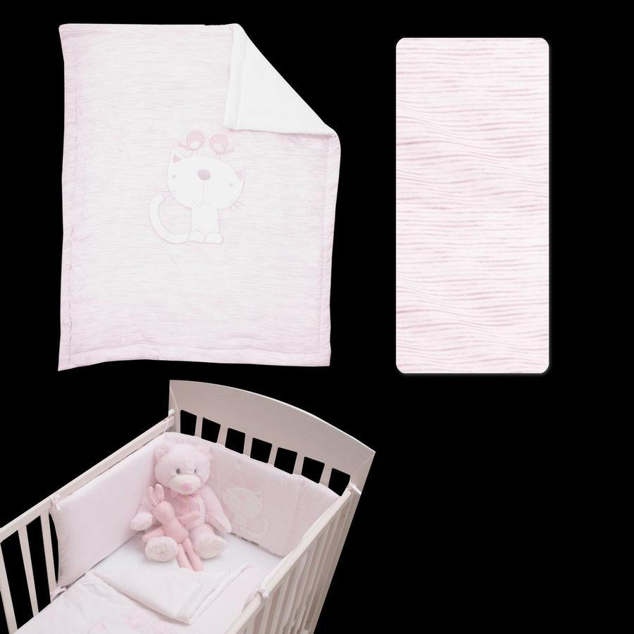 toTs by smarT rike ® - Classic pink zestaw łóżkowy - melange