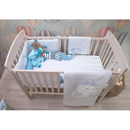 toTs by smarT rike zestaw łóżek Classic niebieski - melange