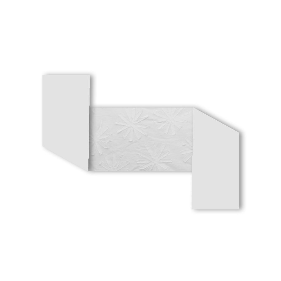 toTs by smarTrike® - Paracolpi Pure White Flowers 32x176 cm