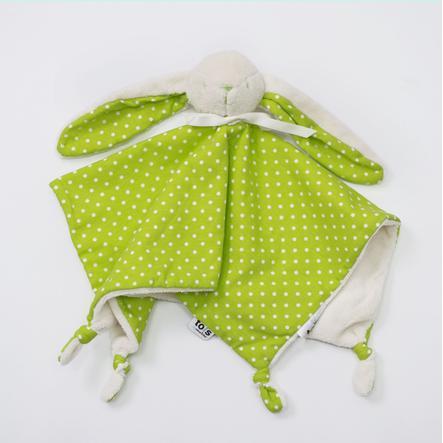 toTs by smarTrike® -  Schnuffeltuch Joy, grün