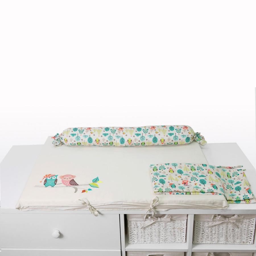 toTs by smarTrike® - Mata do przewijania  Joy Owl, 100x80x4cm