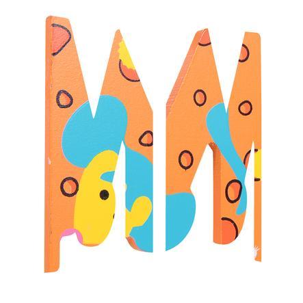 SPIELMAUS Wooden Letter M