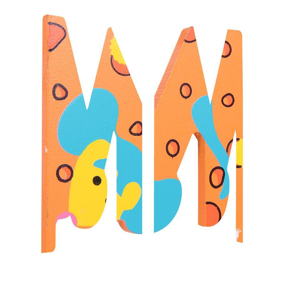 SpielMaus Houten Letter M