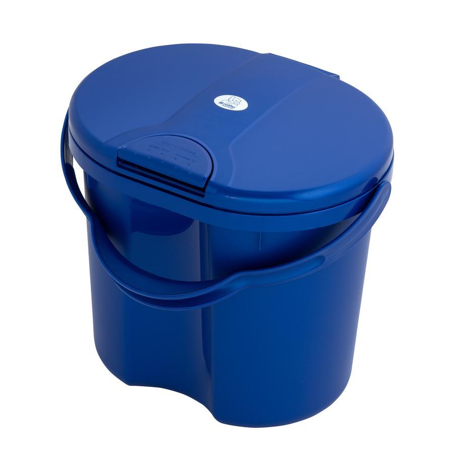Rotho Babydesign Papelera de pañales TOP Azul real