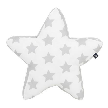 Alvi kosete pute stjerner sølv