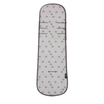 Alvi Air Comfort-inleg voor autostoel groep 1+ Stars, grijs