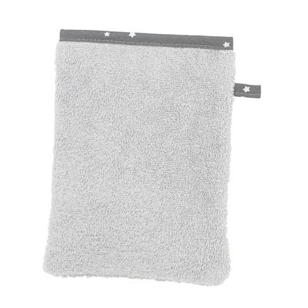 Alvi Toalla de algodón de rizo, Estrella y estrellitas gris