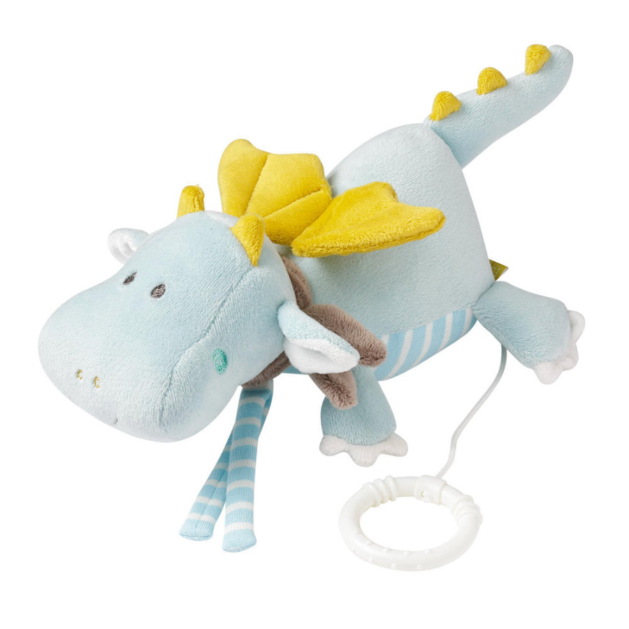 Babysun Peluche musicale dragon couché Little Castle