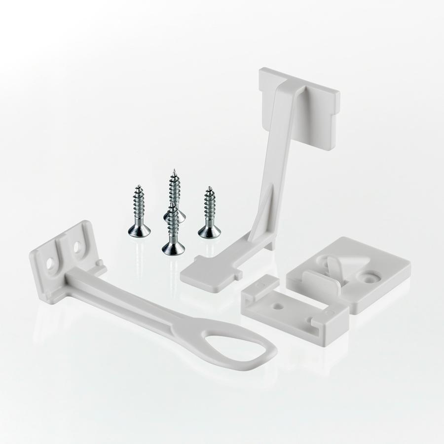 reer Schrank- und Schubladensicherung mit Montagehilfe, 8 Stück