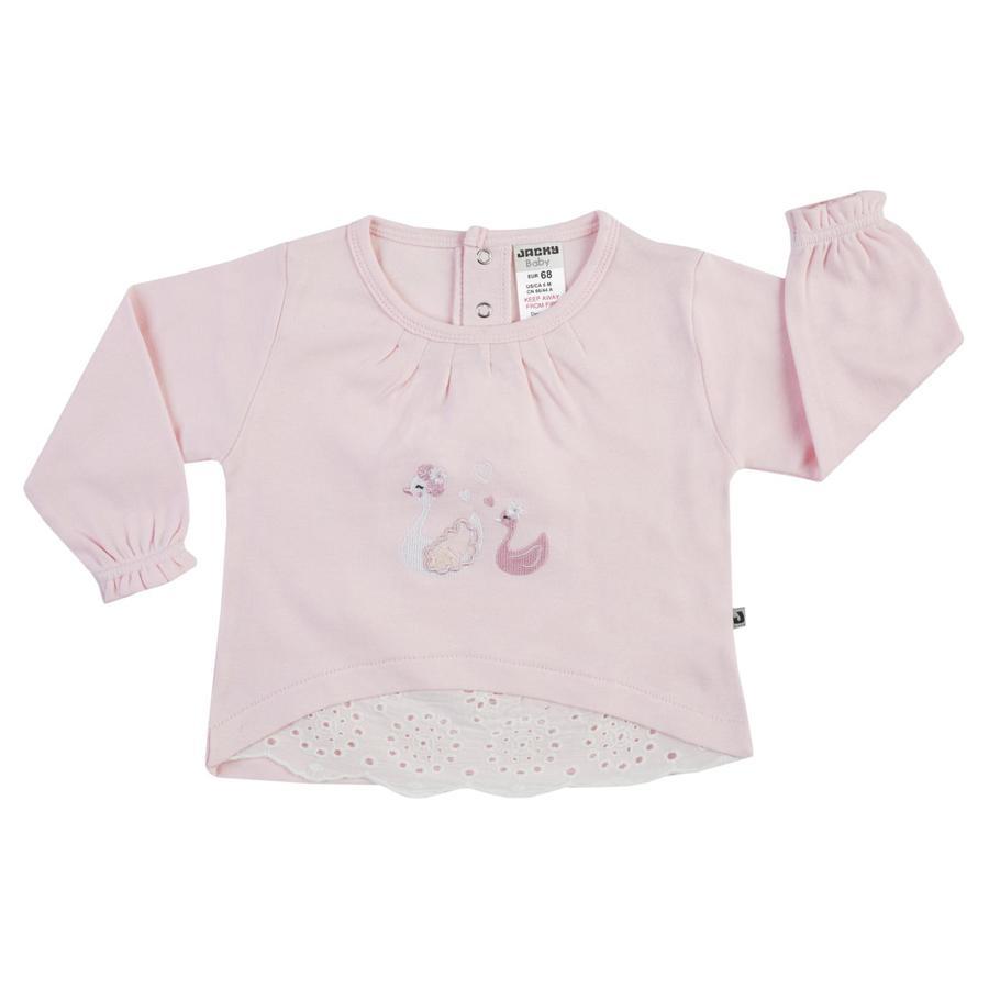 JACKY Camicia manica lunga LITTLE SWAN rosa chiaro