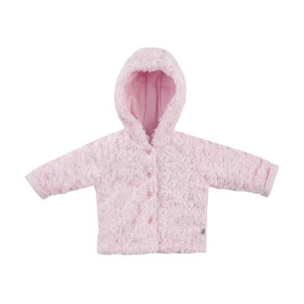 JACKY Chaqueta con capucha LITTLE SWAN rosa claro