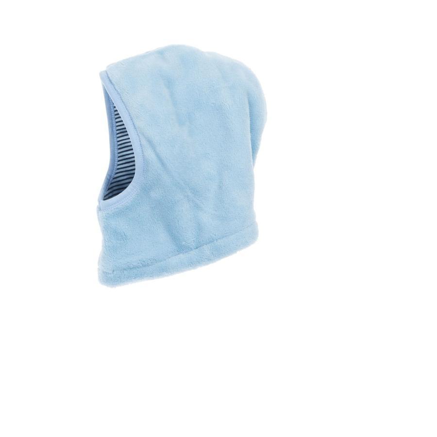 Schnizler Kuschel-Fleece Schlupfmütze bleu