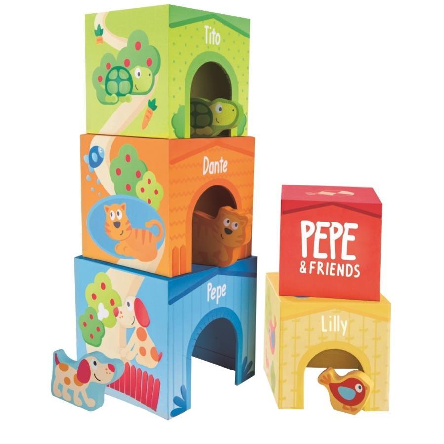 Hape Pepe &  Venner stabling tårn
