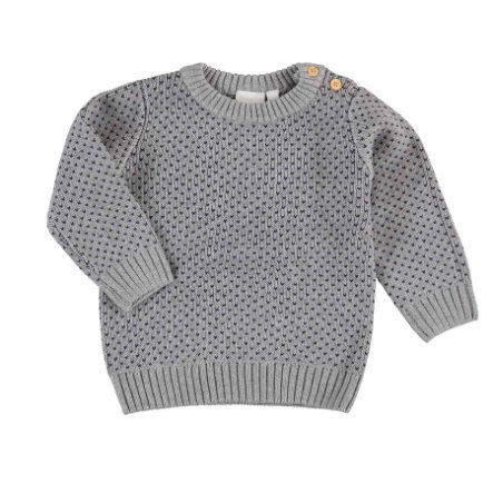 name it Boys Pullover Disan grey melange