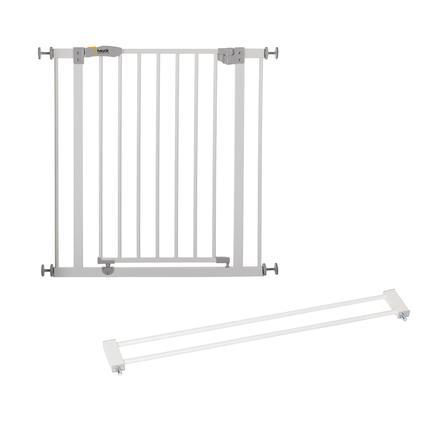 hauck Barrière de porte Open´n Stop blanc, avec extension 9 cm
