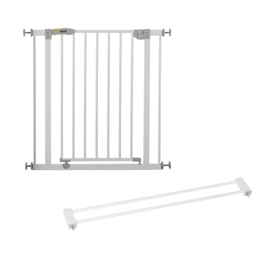 hauck Türschutzgitter Open´n Stop white inklusive Verlängerung 9 cm