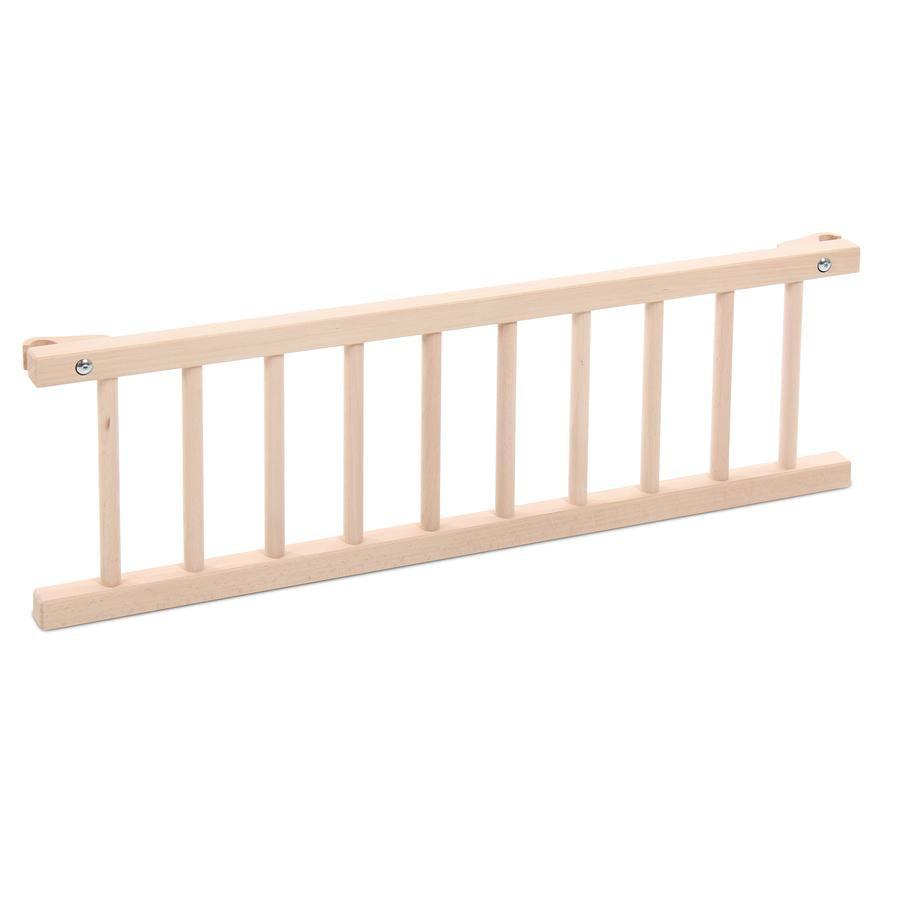 babybay Sängsida Maxi / Boxspring natur obehandlat trä