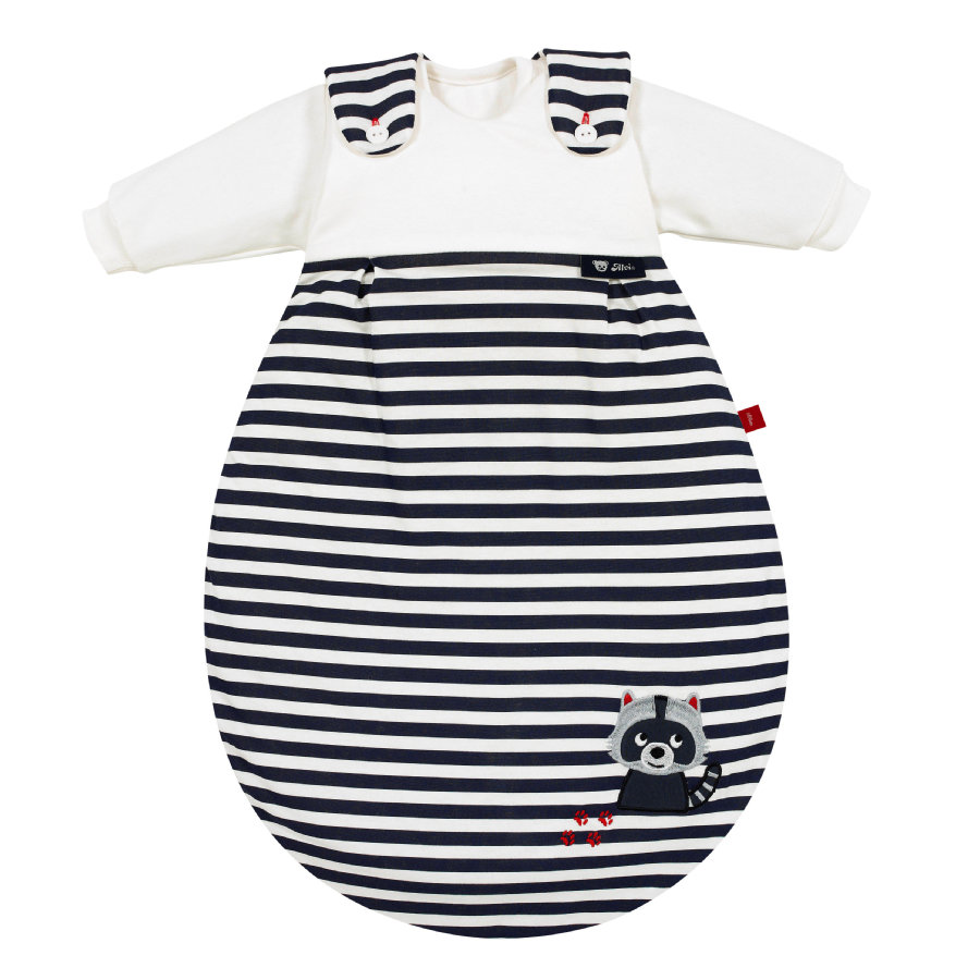 Alvi Baby-Mäxchen® Sovepose  - Original 3 deler  - vaskebjørn marine