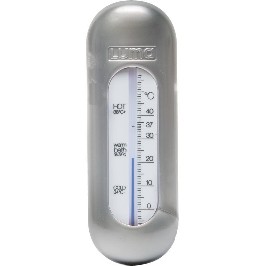 Luma® Babycare Badethermometer Sparkling Silver