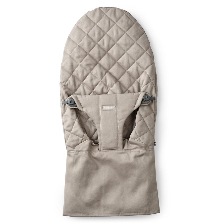 BABYBJÖRN Stoffsitz für Babywippe Bliss Cotton Sand grey