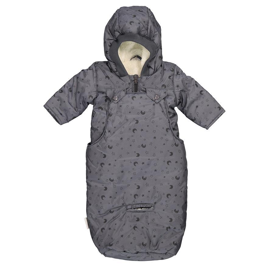 LITTLE 2in1 Jacke mit Fußsack für Babyschale, anthrazit