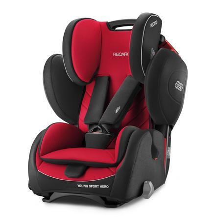 RECARO Child Seat Young Sport Hero Racing Red